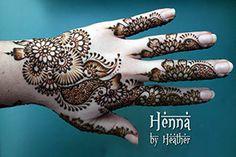 Indo-Arabic light coverage design, inspired by Asha Savla - Henna by Heather