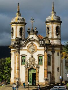 São Francisco de Assis Church in Ouro Preto, Brazil