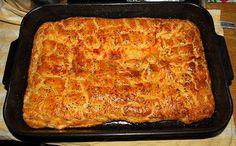 * Οι Συνταγες της Γιαγιας *: ΠΙΤΑ ΕΥΚΟΛΗ ΤΗΣ ΣΤΙΓΜΗΣ(NTR) Lasagna, Cooking, Ethnic Recipes, Food, Kitchen, Essen, Meals, Yemek, Brewing