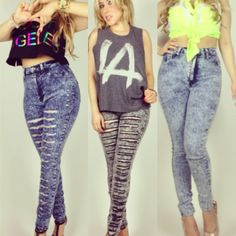 High Waist Jeans are restocked! This weekend only you can get them on sale online while supplies last. www.myNuevaModa.com  -email for pricing ect. order@mynuevamoda.com Latest trends at the most affordable prices! #nuevamoda #losangeles #la #girls #hot #trend #style #instafashion #fashion #ootd #ootn #loveandhiphop #urban #young #distressed #highwaist #online #denim #love #clothing #acidwash
