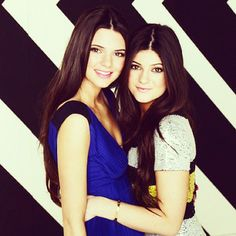 Kendall and Kylie Jenner---I think Kylie looks jus like Khloé....