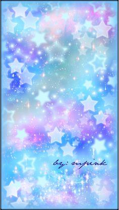 Beautiful Galaxy Blue Stars Wallpaper