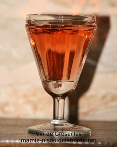 Vin de Groseilles (apéritif)