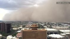 Witness Amazing Time-lapse of #Haboob rolling through #Phoenix