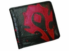 Are you Alliance or Horde? Easiest way to tell is by where you keep your cash. Back in stock now, this World of Warcraft Horde wallet is full grain leather