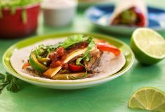 Sizzling tofu fajitas | festive vegan tortillas dishes - burritos, tacos, fajitas and more | vegkitchen.com