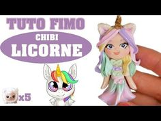 TUTO FIMO - CHIBI LICORNE - YouTube