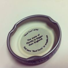 Snapple fact of the day!