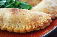 Chicken Empanadas with Chorizo & Olives