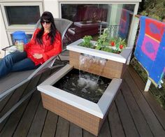 Aquaponic System - AquaDesigner Ambiance Living Fountain