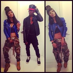 teyana taylor outfits   Teyana Taylor Tomboy Style Trend alert: fashion fatigue