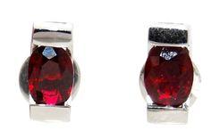 18K White Gold Gemstone Stud Unique Oval Ruby Earrings [E... https://www.amazon.com/dp/B00CKIDZMU/ref=cm_sw_r_pi_dp_Y9RDxbKXC80Z7