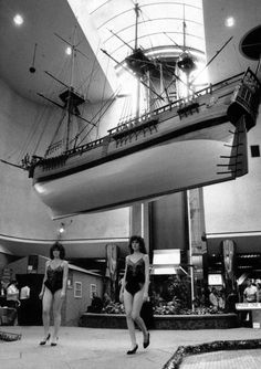 Replica of Captain Cook's Endeavour hangs in the Cleveland Centre - Joanne Welford - Gazette Live River Tees, Middlesbrough, Northern Soul, My Town, North Yorkshire, Boro, A Decade, Cleveland, Centre