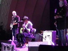 Johnny Winter and Leslie West of Mountain playing the Jimi Hendrix song Red House. Filmed in Toronto at the C.N.E. in 2009.