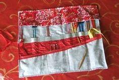 Kimono Needle Roll - DIY Craft Project Instructions
