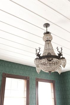 That Chandelier. Yes.