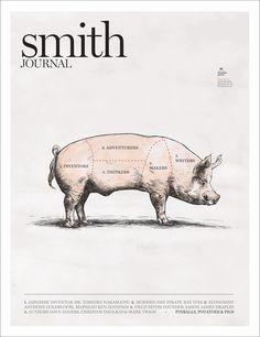 SMITH JOURNAL / magazine design / cover / editorial design