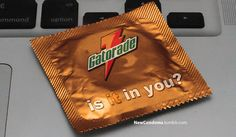 Popular Brand Slogans As Condom Wrappers. I remember when they came out a long time ago, and it's still funny ;P