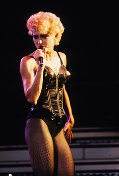Madonna performs at Various Locations circa 1987 in New York City. Madonna Live, Madonna 90s, Lady Madonna, Madonna Pictures, Top 10 Hits, Women In Music, Girls World, Music Icon, Pop Singers