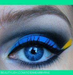 Finding Nemo: Dory Inspired | Eimear B.'s (xDEimearByrne) Photo | Beautylish