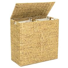 Home In 2020 Laundry Hamper Double Laundry Hamper Wooden