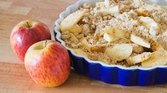 Apple Crumble #healthy recipes