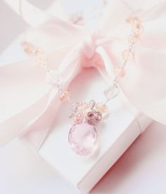 kiyumie: So soft ~    Luxury Pink Necklace - My edit