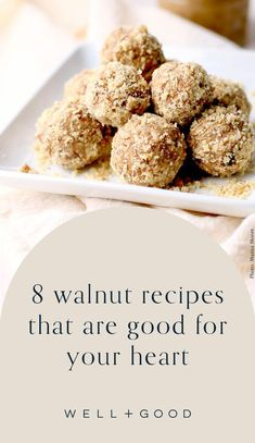 walnut recipes Most Nutritious Foods, Healthy Snacks, Healthy Recipes, Superfood Recipes, Snack Recipes, Walnut Recipes, Dinners, Meals, Delicious Dinner Recipes