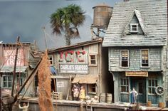 Absolutely the best diorama I have seen lately.  I also was thinking of doing one featuring Red's Ice House on Shem Creek with the shrimp trawlers