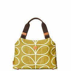 Linear Stem Shoulder Bag Olive