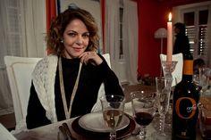 """Claudia Gerini in """"Il traduttore"""" (2016)"""