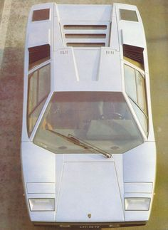 Lamborghini Countach  - I had a model toy car of this as a kid... Still badass