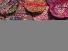 stevie walker - Felt Brooches - Hand made felt with needle-felted and embroidered detail.