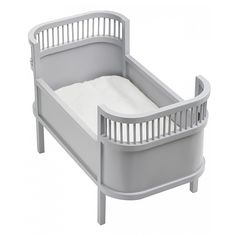 Rosaline Wooden Doll Bed - Grey – Is To Me
