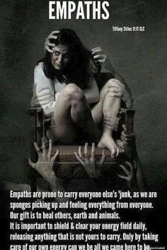 My problem is that I want to heal people, but I seem to hurt them and myself instead :(  I'm a bad empath.