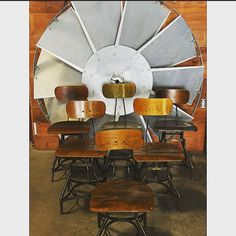 Toledo stool roll call #vintage #industrial #midcentury #salvagestyle #designpdx #exploregon #pnw #industrialdistrict #chairs #chairswithstories #auroramills #tupaclives