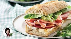 Baguette jambon-fromage