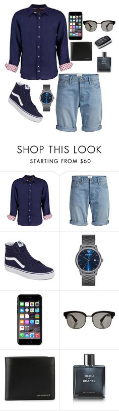 """Summer#3"" by paula-merry ❤ liked on Polyvore featuring Tobias, Jack & Jones, Vans, Emporio Armani, Off-White, Gucci, Burberry, Chanel, men's fashion and menswear"