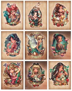 Disney tattoo idea's