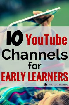 YouTube channels for young kids. Helpful list for preschool to second grade. The Learning Station, Have Fun Teaching and more.