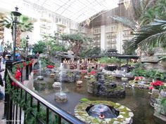 Opryland Hotel looks breathtaking in photos. But nothing beats seeing it in person! 3 things you MUST see when visiting the Opryland Hotel + Tips before you go.