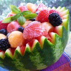 Strawberry-Melon Summer Salad!
