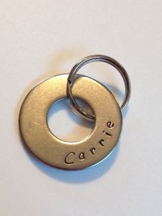 Personalized Name Keychain, by HazelJewelryDesigns, $12.00