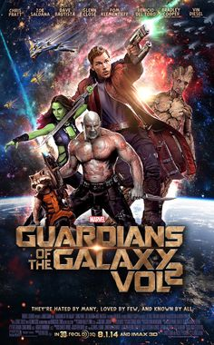 Guardians of the Galaxy Vol. 2 by marty-mclfy