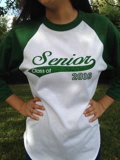 Class of 2016 Senior shirt by AsYouWishByRosie on Etsy