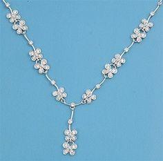 butterflies bridal necklace