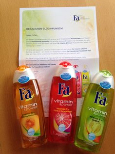 Fa Vitamin & Power Produkt-Set #fafreundinnen #fa
