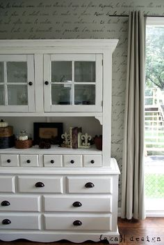 Paint the bedroom furniture