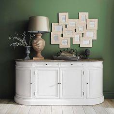 Birch Sideboard in Ivory W 190 | Maisons du Monde