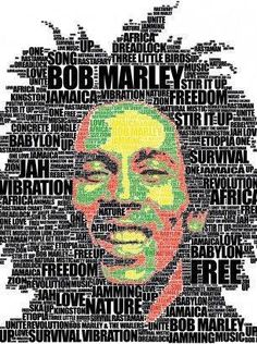 bob marley photo Home Decor home decor trends 2018 Bob Marley Painting, Bob Marley Art, Bob Marley Quotes, Reggae Style, Reggae Music, Reggae Art, Art Design, Graphic Design, Typography Portrait